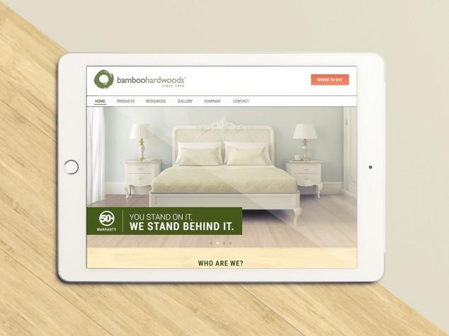 Bamboo Hardwoods Website