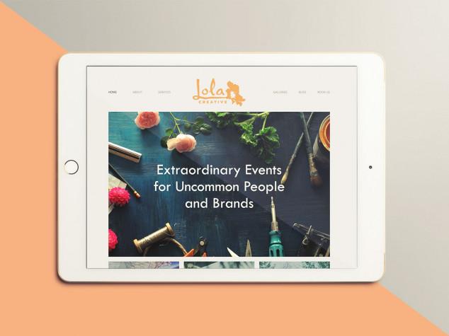 Lola Creative Website