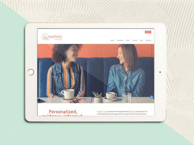 Rosefinch Health Website Design