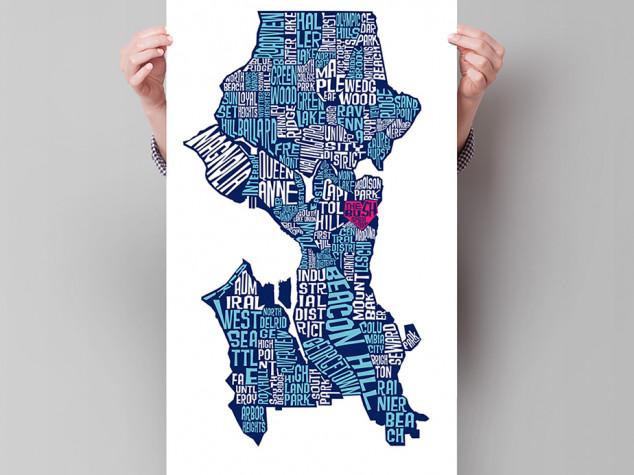 The Bush School Seattle neighborhood map