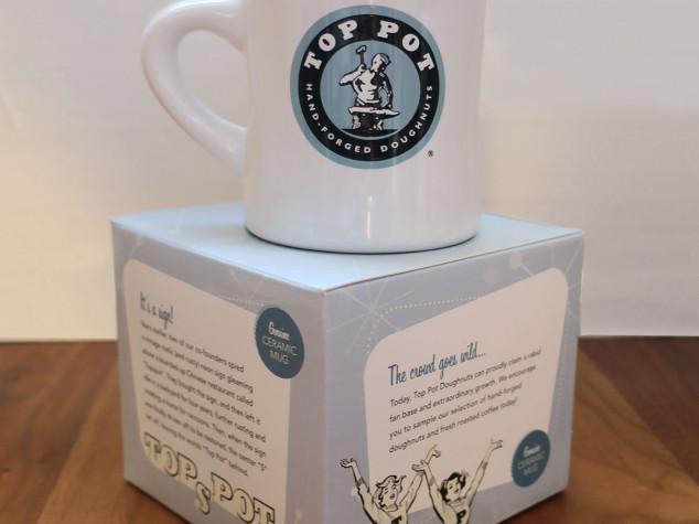 Top Pot Mug and Box